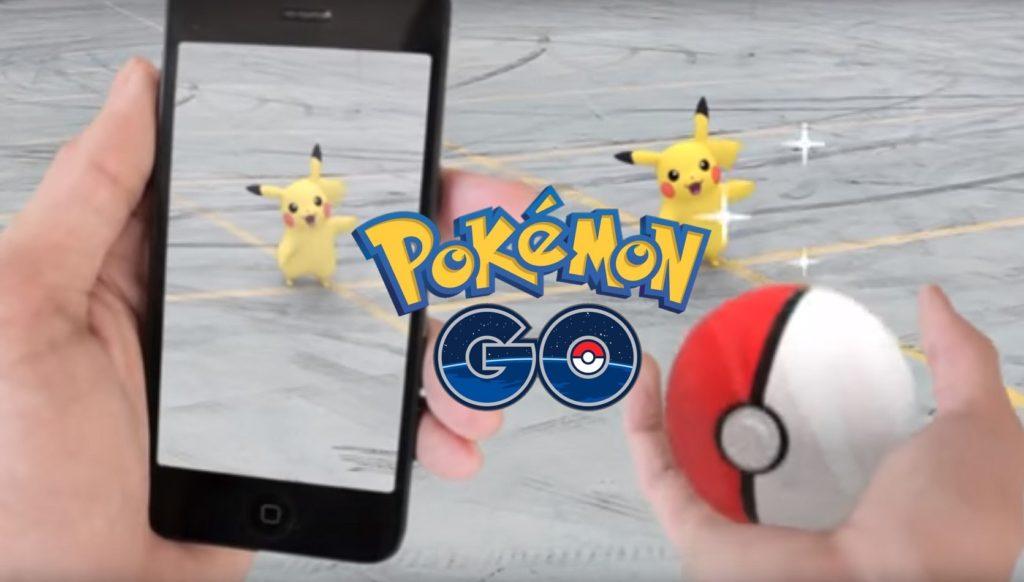 Pokémon Go screen