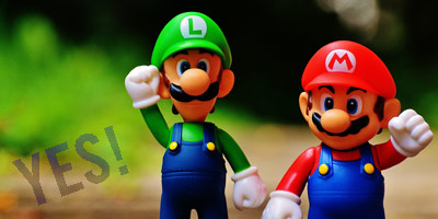 mario and luigi say yes